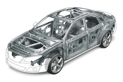 SEAT Exeo Limousine 3R Facelift Karosserie Front schräg erhöht statisch