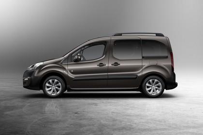 Peugeot Partner Tepee 2 Aussenansicht Seite statisch braun