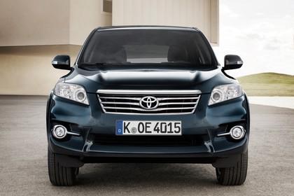 Toyota RAV4 XA3 Facelift Aussenansicht Front statisch dunkelblau