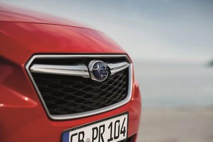 Subaru Impreza G4 Aussenansicht Front schräg statisch Detail Grill