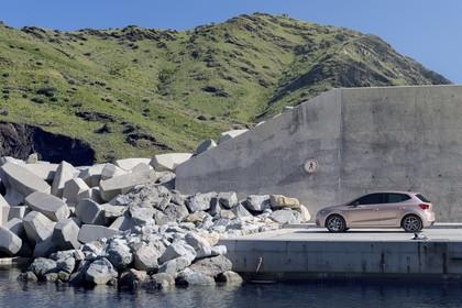 SEAT Ibiza Aussenansicht Seite schräg statisch beige