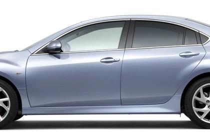 Mazda 6 Limousine GH Studio Aussenansicht Seite statisch silber