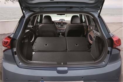 Hyundai i20 GB Innenansicht Detail statisch grau Kofferraum