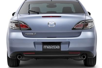 Mazda 6 Limousine GH Studio Aussenansicht Heck statisch silber