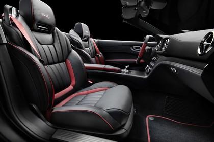 Mercedes SL R231 Innenansicht Studio Detail Sitze statisch schwarz