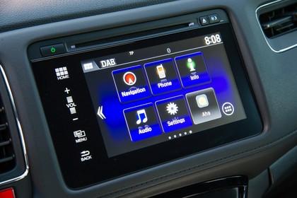 Honda HR-V RU Innenansicht statisch Detail Infotainmentbildschrim