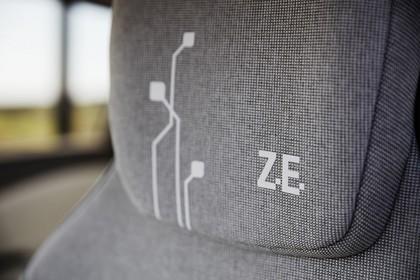 Renault ZOE Innenansicht statisch Detail Kopfstütze