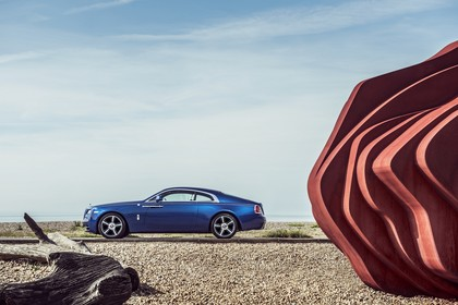 Rolls-Royce Wraith Aussenansicht Seite statisch blau
