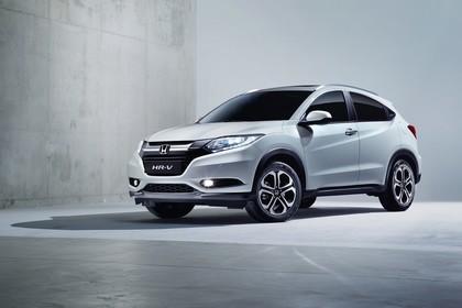 Honda HR-V RU Aussenansicht Front schräg statisch Studio weiss