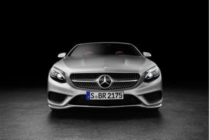Mercedes-Benz S-Klasse Cabriolet A207 Aussenansicht Front statisch Studio silber