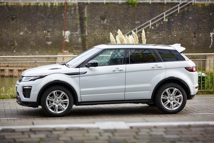 Range Rover Evoque L538 Aussenansicht Seite statisch weiss