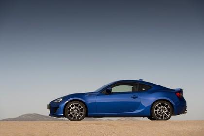 Subaru BRZ Aussenansicht Seite statisch blau