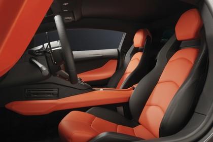 Lamborghini Aventador Innenansicht statisch Studio Sitze