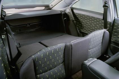 Mercedes C-Klasse Sportcoupe W203 Innenansicht Rückbank statisch schwarz