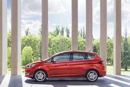 Ford C-MAX Seite statisch rot