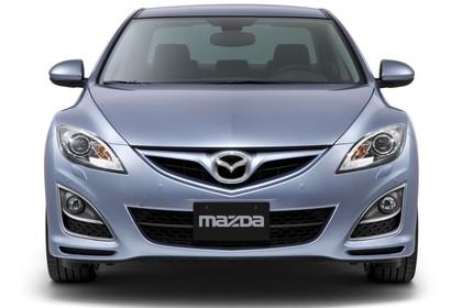 Mazda 6 Limousine GH Studio Aussenansicht Front statisch silber