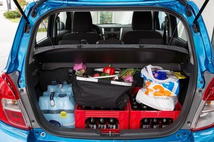 Suzuki Celerio Innenansicht Kofferraum