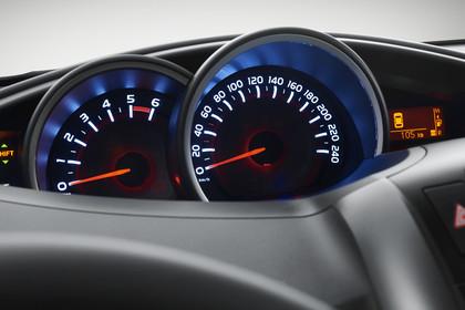 Toyota Verso (ARA2) Innenansicht Detail Kombiinstrument
