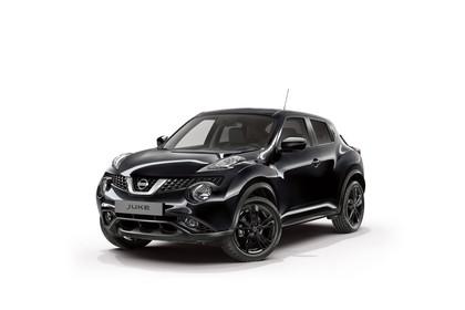 Nissan Juke (F15) Aussenansicht Front schräg statisch schwarz