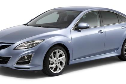 Mazda 6 Limousine GH Studio Aussenansicht Seite schräg statisch silber