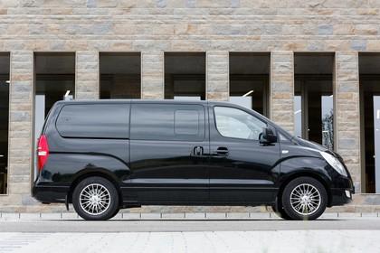 Hyundai H-1 Travel TQ Aussenansicht Seite statisch schwarz