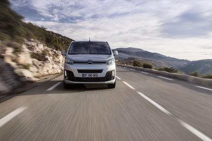 Citroën Spacetourer Aussenansicht Front dynamisch silber