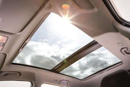 Hyundai ix20 Innenansicht Detail statisch Panoramadach