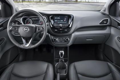Opel Karl Innenansicht Front  statisch schwarz