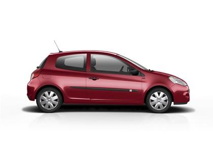 Renault Clio Dreitürer R Aussenansicht Seite statisch Studio rot