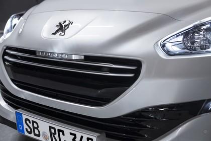 Peugeot RCZ Aussenansicht Front Detail Studio statisch weiss