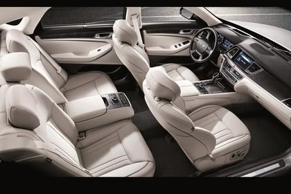 Hyundai Genesis DH Innenansicht statisch beige