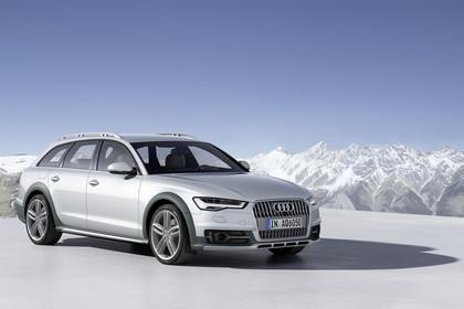 Audi A6 C7 Allroad Aussenansicht Front schräg statisch silber