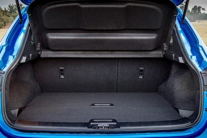 Nissan Qashqai J11 FL Aussenansicht Heck statisch Heckklappe geöffnet blau