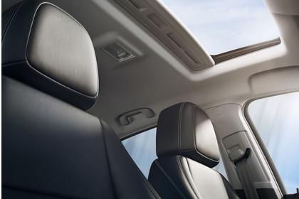 Opel Mokka X Innenansicht Detail Panoramadach statisch schwarz