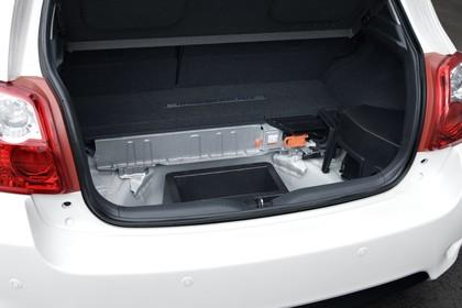 Toyota Auris Hybrid E15 Innenansicht statisch Detail Kofferraum