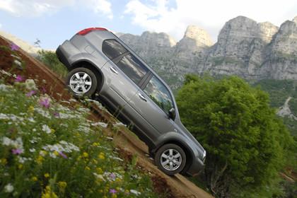 Nissan X-Trail T31 Aussenansicht Seite dynamisch grau