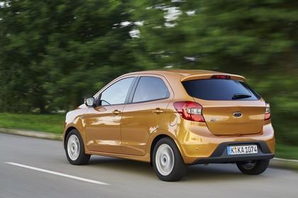 Ford KA+ Heck schräg dynamisch gold