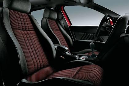 Alfa Romeo 159 939 Innenansicht statisch Studio Vordersitze und Armaturenbrett beifahrerseitig