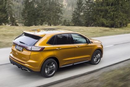 Ford Edge CD539X Seite schräg dynamisch gelb