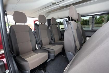 Citroën Jumper Y Innenansicht statisch Innenraum Rücksitze