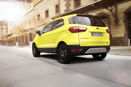 Ford EcoSport B515 Heck schräg dynamisch gelb