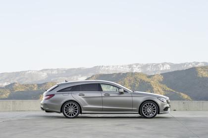 Mercedes-Benz CLS Shooting Brake X218 Aussenansicht Seite statisch silber