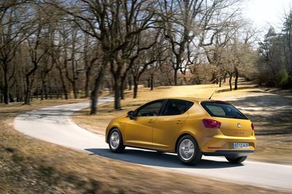 SEAT Ibiza 6P Heck schräg dynamisch gelb