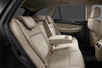 Subaru Outback Innenansicht statisch Studio Rücksitze