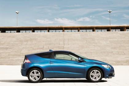 Honda CR-Z Aussenansicht Seite statisch blau