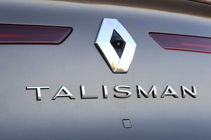 Renault Talisman RFD Aussenansicht Heck schräg statisch Detail Talisman Schriftzug