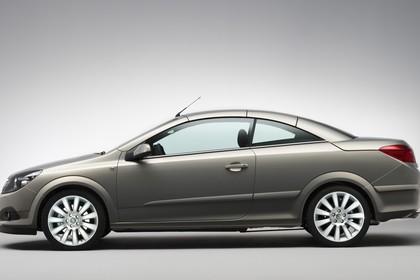 Opel Astra H Aussenansicht Seite Studio statisch gold