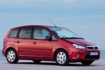 Ford C-Max Aussenansicht Seite schräg statisch rot