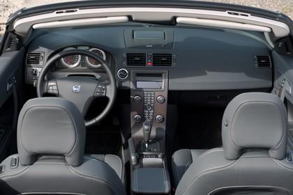 Volvo C70 Innenansicht Front statisch schwarz