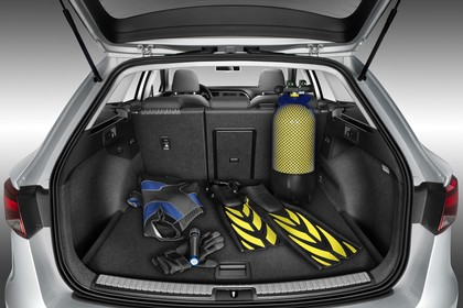 SEAT Leon ST 5F Innenansicht Kofferraum